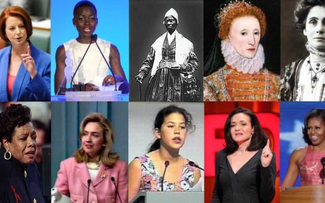 speeches by women