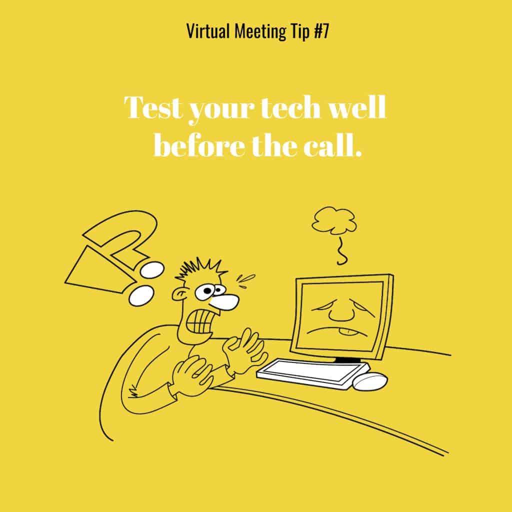 virtual meeting tips